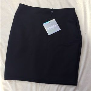 Missguided Petite Scuba mini Skirt bodycon US 4